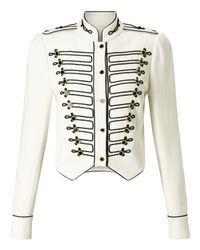 Somerset by Alice Temperley - White Military Jacket - Lyst