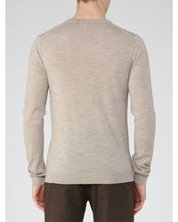 Reiss - Multicolor Emporer Merino Wool V-neck Jumper for Men - Lyst