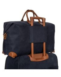 Bric's - Blue Life Clipper Medium Holdall for Men - Lyst