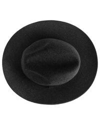 Reiss | Multicolor Seeno Wide Brim Wool Fedora Charcoal for Men | Lyst