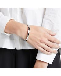 Kate Spade | Metallic Find The Silver Lining Bangle | Lyst