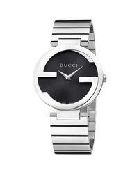 Gucci - Metallic Ya133307 Women's Interlocking G Bracelet Strap Watch for Men - Lyst