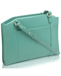 Radley - Green Grafton Leather Medium Across Body Bag - Lyst