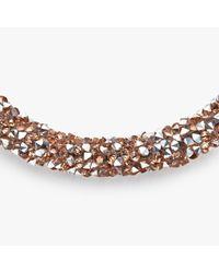 John Lewis - Metallic Cut Glass Sparkle Open End Bracelet - Lyst