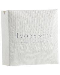 Ivory & Co. - Metallic Timeless Cubic Zirconia Pave Teardrop Pendant Necklace - Lyst