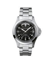 Hamilton   Metallic H64455133 Men's Khaki Field King Automatic Day Date Bracelet Strap Watch for Men   Lyst