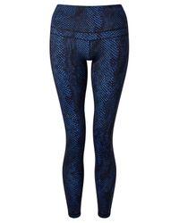 Varley - Blue Biona Tights - Lyst