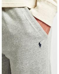 Ralph Lauren - Gray Polo Loopback Jersey Lounge Pants for Men - Lyst