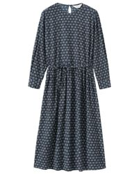 Toast - Blue Daisy Print Dress - Lyst