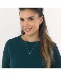 Kit Heath - Metallic Coast Pebble Turquoise Pendant Necklace - Lyst