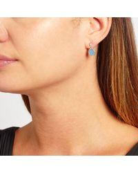 John Lewis - Multicolor Semi-precious Stone Double Drop Earrings - Lyst