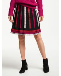 fc5541ca8156 Somerset by Alice Temperley Knitted Skirt in Red - Lyst