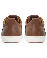 Dune - Brown Tristan Stitch Detail Bumper Trainers for Men - Lyst