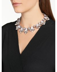 John Lewis - Multicolor Glass Crystal Collar Necklace - Lyst