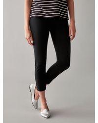 Numph - Black Joyanna Cropped Trousers - Lyst