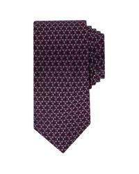 John Lewis - Purple Ted Baker Balti Geo Pattern Silk Tie for Men - Lyst