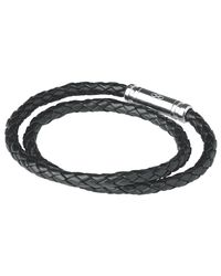 Links of London - Metallic Men's Venture Double Leather Bracelet - Lyst