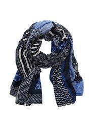 Betty Barclay   Blue Multi-print Viscose Scarf   Lyst