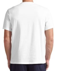 Ralph Lauren - White Polo Crew Neck Lounge T-shirt for Men - Lyst