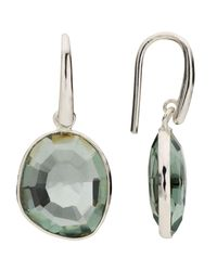 John Lewis - Multicolor Semi-precious Stone Simple Drop Hook Earrings - Lyst