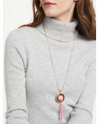 John Lewis - Multicolor Long Sphere Tassel Necklace - Lyst