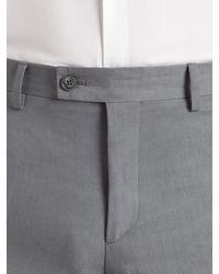 John Varvatos - Gray Austin Fit Dress Pant for Men - Lyst