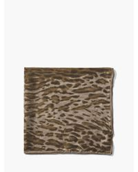 John Varvatos - Multicolor Crinkled Leopard Printed Light Weight Bandana for Men - Lyst