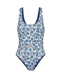 Joie | Blue The Anne-marie Reversible Onepiece | Lyst