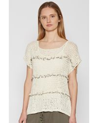 Joie - Natural Jacinte Crochet Top - Lyst