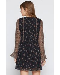 Joie - Black Amaryn Silk Dress - Lyst