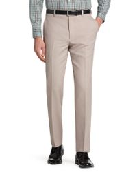 Jos. A. Bank - Gray 1905 Collection Tailored Fit Flat Front Dress Pant - Big & Tall Clearance for Men - Lyst