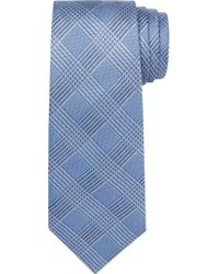 Jos. A. Bank - Blue Signature Collection Houndstooth Plaid Tie for Men - Lyst