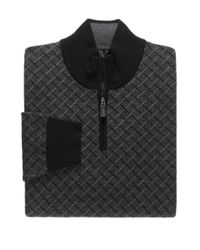 Jos. A. Bank | Black Signature Collection Merino Wool Birdseye Quarter-zip Sweater for Men | Lyst