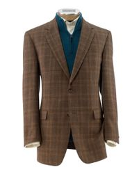 Jos. A. Bank - Brown Executive 2 Button Fleece Rich Sportcoat Clearance for Men - Lyst