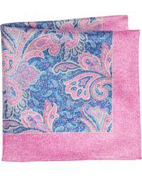 Jos. A. Bank - Pink Joseph Abboud Paisley Pocket Square for Men - Lyst
