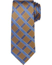 Jos. A. Bank - Blue Signature Grid Tie for Men - Lyst