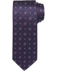 Jos. A. Bank | Purple Executive Collection Geo Tile Tie for Men | Lyst