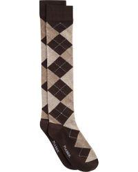 Jos. A. Bank - Brown Argyle Socks, 1-pair for Men - Lyst