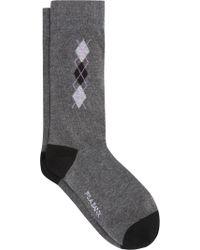 Jos. A. Bank - Gray Argyle Socks, 1-pair for Men - Lyst