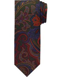 Jos. A. Bank - Green Reserve Collection Floral Motif Tie for Men - Lyst