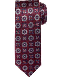 Jos. A. Bank - Red Reserve Collection Medallion Tie Clearance for Men - Lyst