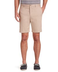 Jos. A. Bank - Blue Traveler Tailored Fit Twill Shorts for Men - Lyst