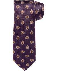 Jos. A. Bank - Purple 1905 Collection Basketweave & Pine Tie for Men - Lyst