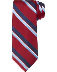 Jos. A. Bank - Red Executive Collection Wide Stripe Tie Clearance for Men - Lyst
