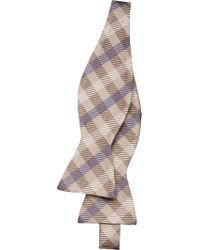 Jos. A. Bank - Multicolor Executive Collection Gingham Check Bow Tie for Men - Lyst