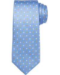 Jos. A. Bank - Blue Signature King Oxford Two-dot Tie for Men - Lyst