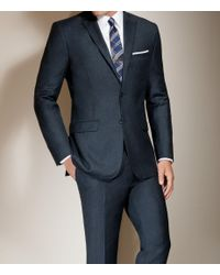 Jos. A. Bank - Blue Joseph Slim Fit 2-button Wool/cashmere Plain Front Suit Clearance for Men - Lyst