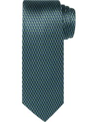 Jos. A. Bank - Green Reserve Collection Geometric Weave Tie for Men - Lyst