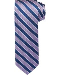 Jos. A. Bank - Purple 1905 Collection Thin Stripes Tie for Men - Lyst