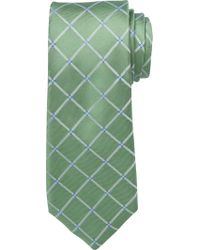 Jos. A. Bank - Green Executive Collection Large Grid Tie for Men - Lyst